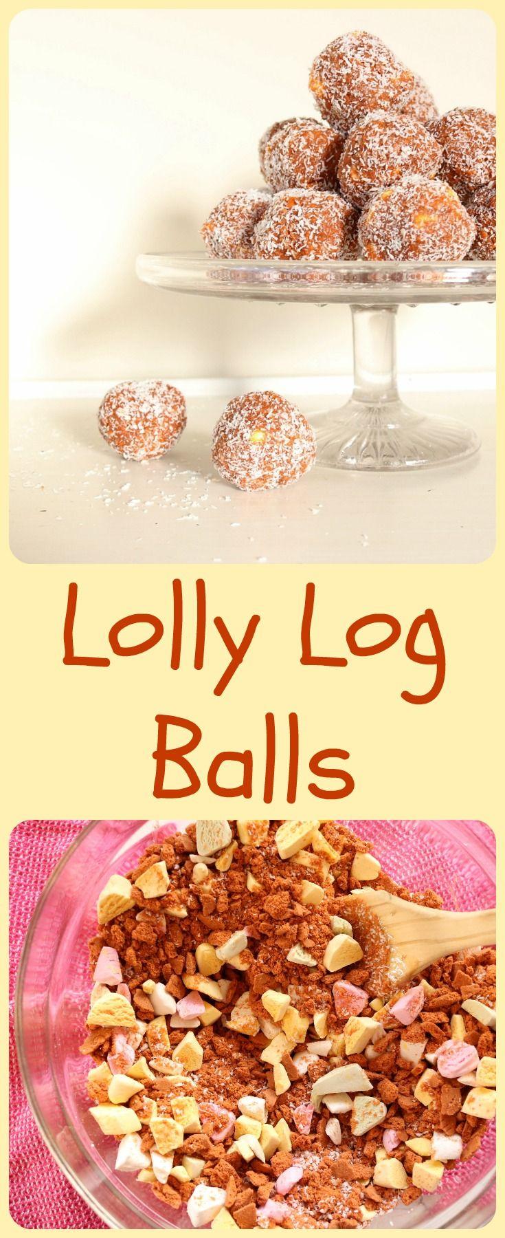 Lolly log white chocolate cheesecake recipe baking