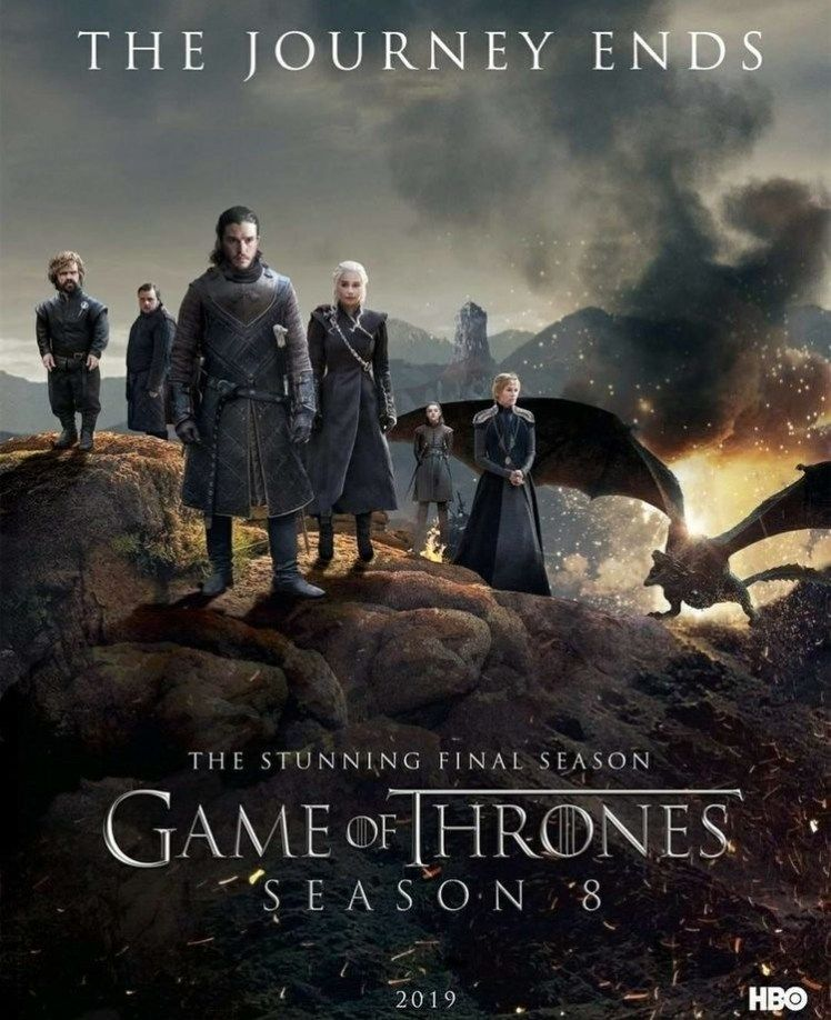 Game Of Thrones Saison 8 The Last Watch Streaming : thrones, saison, watch, streaming, Thrones, Final, Season, Episode, Details, Watch, Thrones,, Poster,, Online