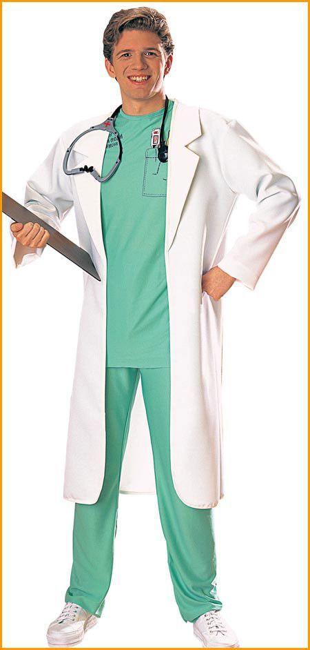 lab coat men 39 s costume fasching. Black Bedroom Furniture Sets. Home Design Ideas