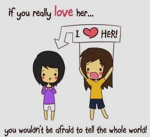 cute lesbian love