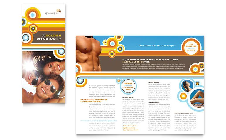Marketing Consultant Brochure Template Design branding ideas - diabetes brochure template