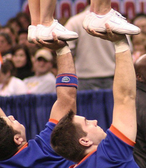 Cheerleaders at 2010 Sugar Bowl - the sidelines will look very different this year