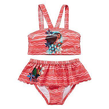 8954a67fcf Clothing Disney Princess Girls Moana Swimsuit