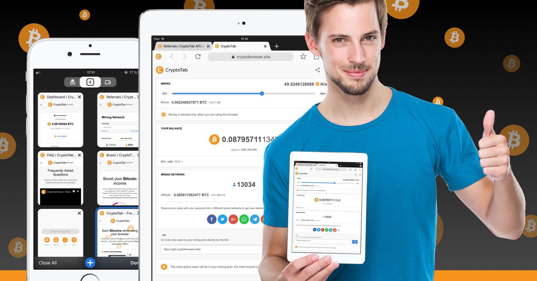La Mu00e9thode La Plus Simple Pour Gagner Des Bitcoins Changez Votre Navigateur Pour Cryptotab Et Recevez Des Paiement Bitcoin Bitcoin Mining Free Bitcoin Mining