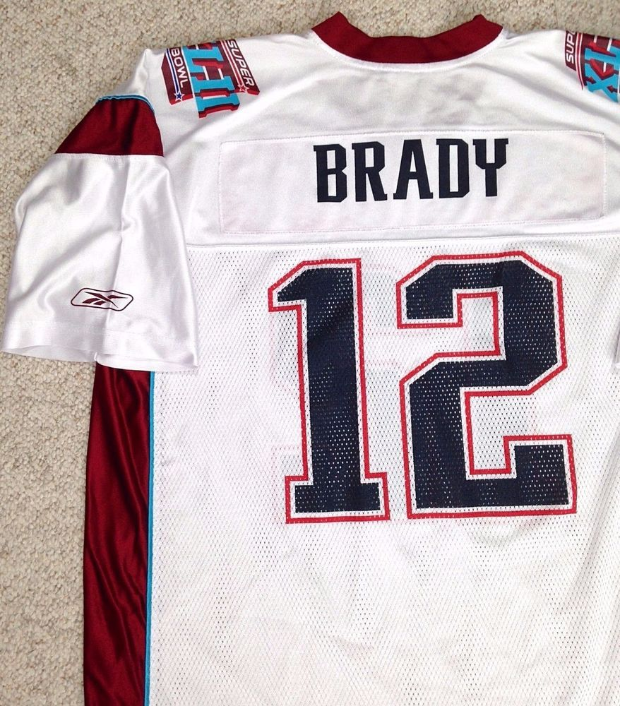 reputable site 1d83e fb847 Details about Men's #12 Tom Brady New England Patriots Game ...