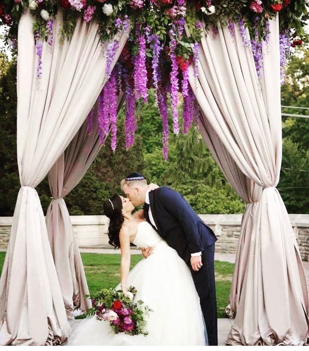 60 Amazing Wedding Altar Ideas Structures For Your: Wedding Altars, Wedding, Lilac