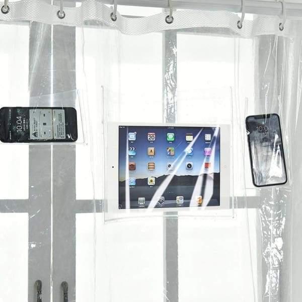 Screenholder Shower Curtain Cheap Shower Curtains Diy Shower