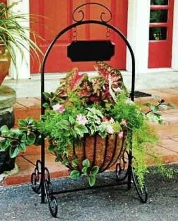 Wrought Iron Planter Ideas Iron Planters Planters Wrought Iron