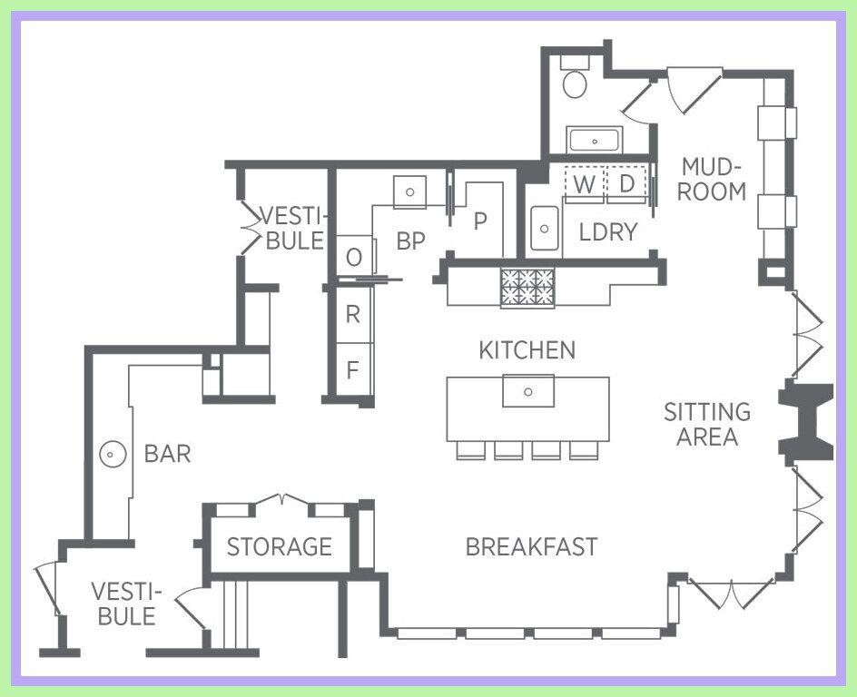 72 Reference Of Kitchen Design Floor Plans Kitchen Floor Plans Floor Plan Design Kitchen Design Open