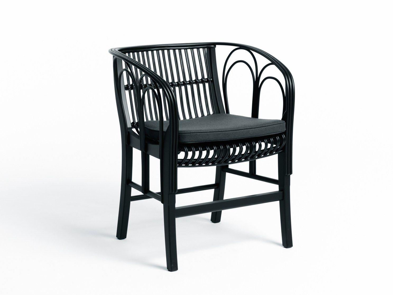 Rattan Midollino E Vimini Padova.Sedia In Midollino Con Braccioli Uragano By De Padova Design Vico