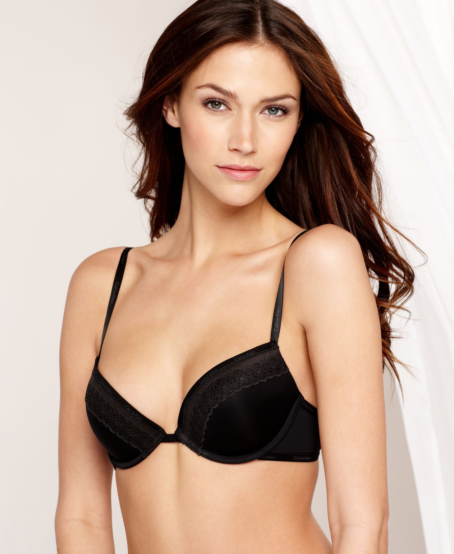 110df0f2aa0 Calvin Klein Perfectly Fit Sexy Signature Push Up Underwire Bra F3263