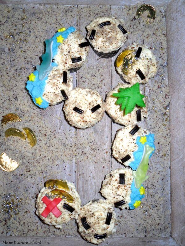 Cupcake Schatzkarte