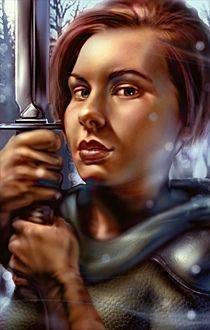 Bg1 Human Female With Images Baldur S Gate Portraits Fantasy
