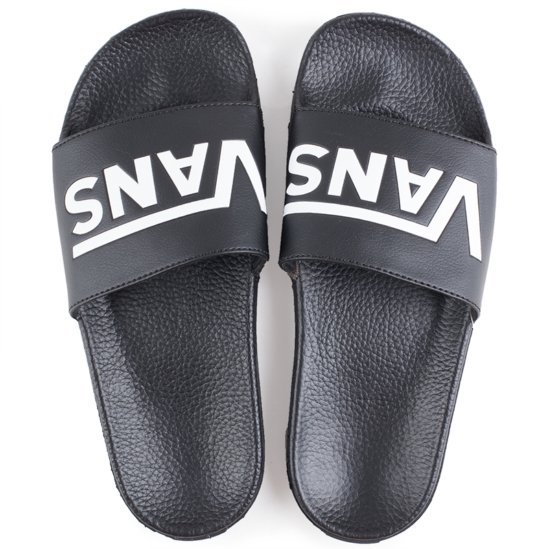 cb23397e8e4d12 The Vans Surf Slide-On Women s Sandals in the Black Colorway offers  ultimate comfort and all-day ease. The newly designed Slide-On sandal  features an ...