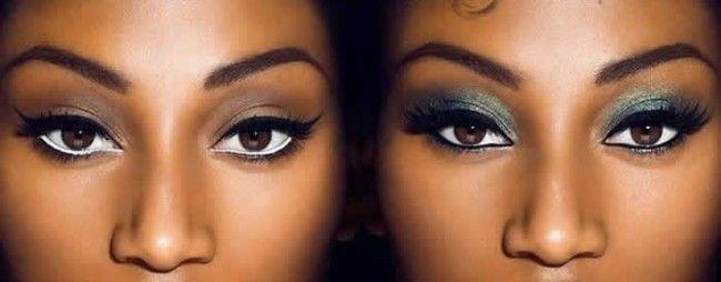 Maquiagem para pele negra e/ou morena para festa dia ou noite