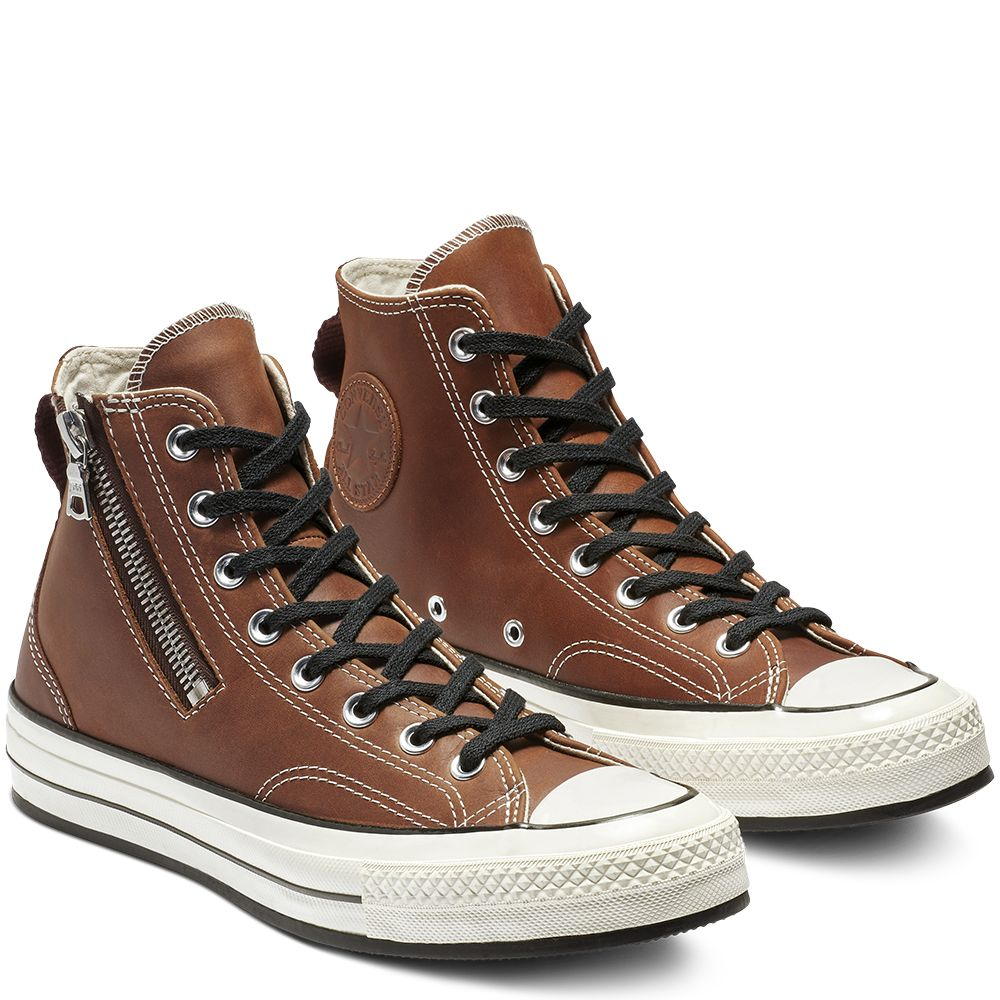 Converse x RIRI Chuck 70 Leather High Top ApricotEgret
