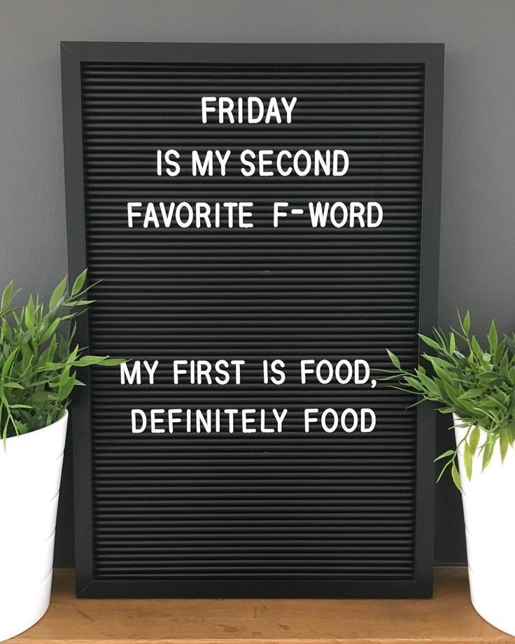 #friday #second #2nd #favorite #fword #food #fridayquotes