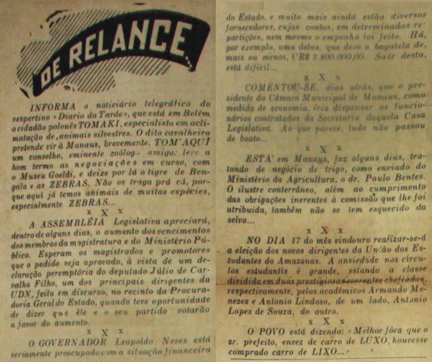 A Gazeta 31 De Marco De 1949 A Gazeta Carta Magna E 19 De Abril
