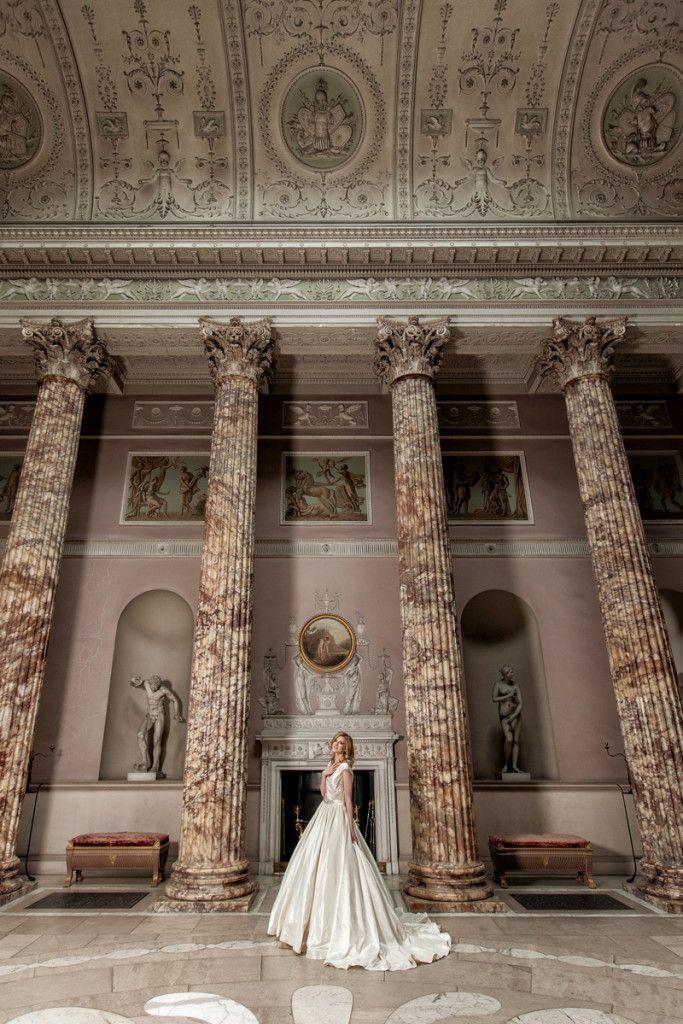 Kedleston Hall Derbyshire, East Midlands Style Focused