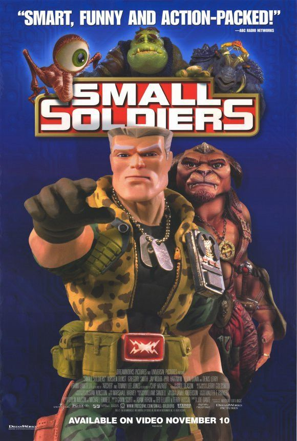 Small Soldiers 1998 Movie Poster 27x40 Used Tommy Lee Jones