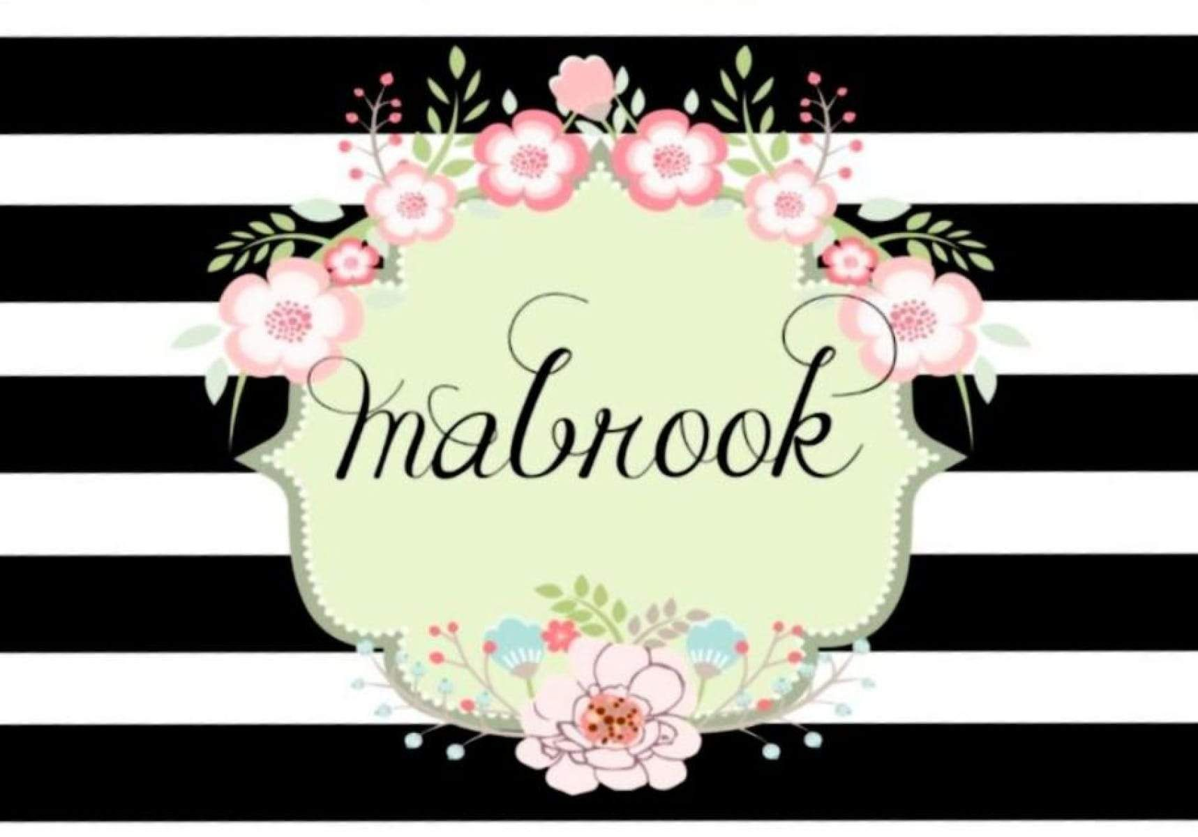 Mabrook Floral Card Floral Cards Silhouette Cards Cards