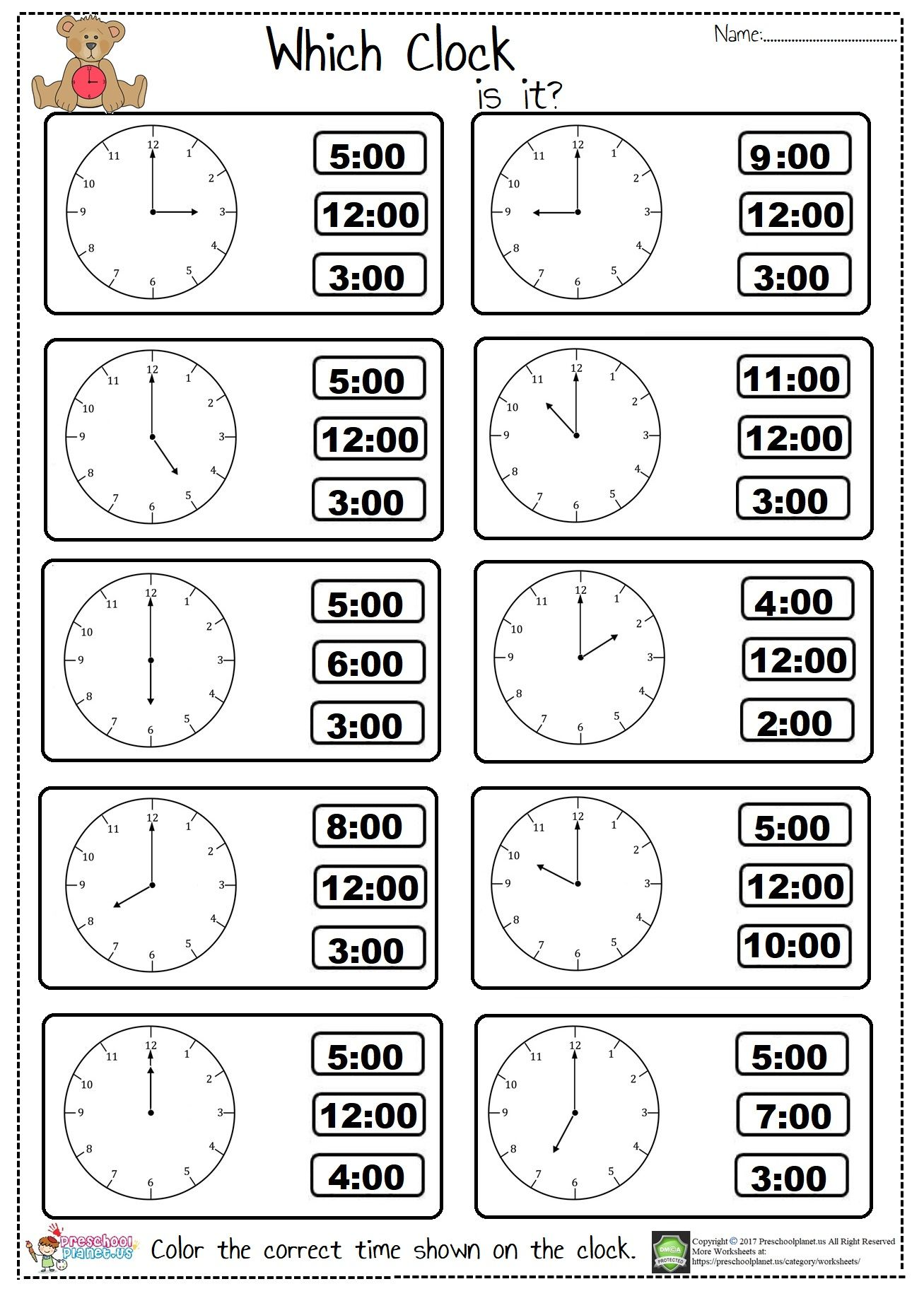 Hey Did You Check Out Our New Telling Time Worksheet We