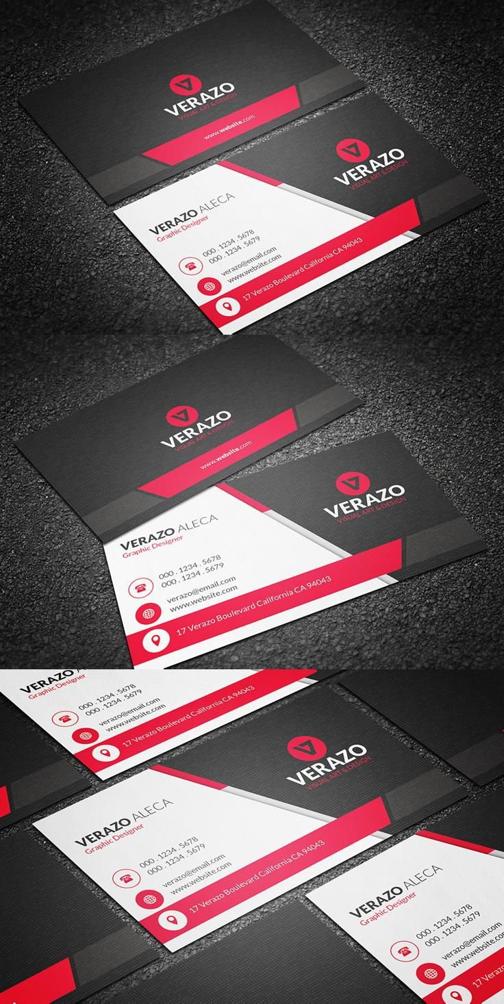 Businesscard Design From Verazo Download Https