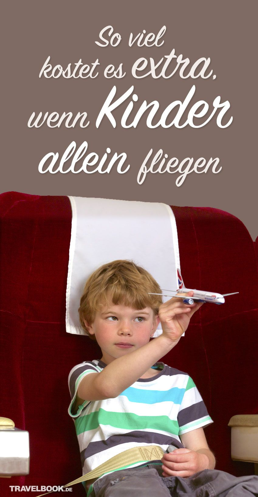 Flug Kind Allein