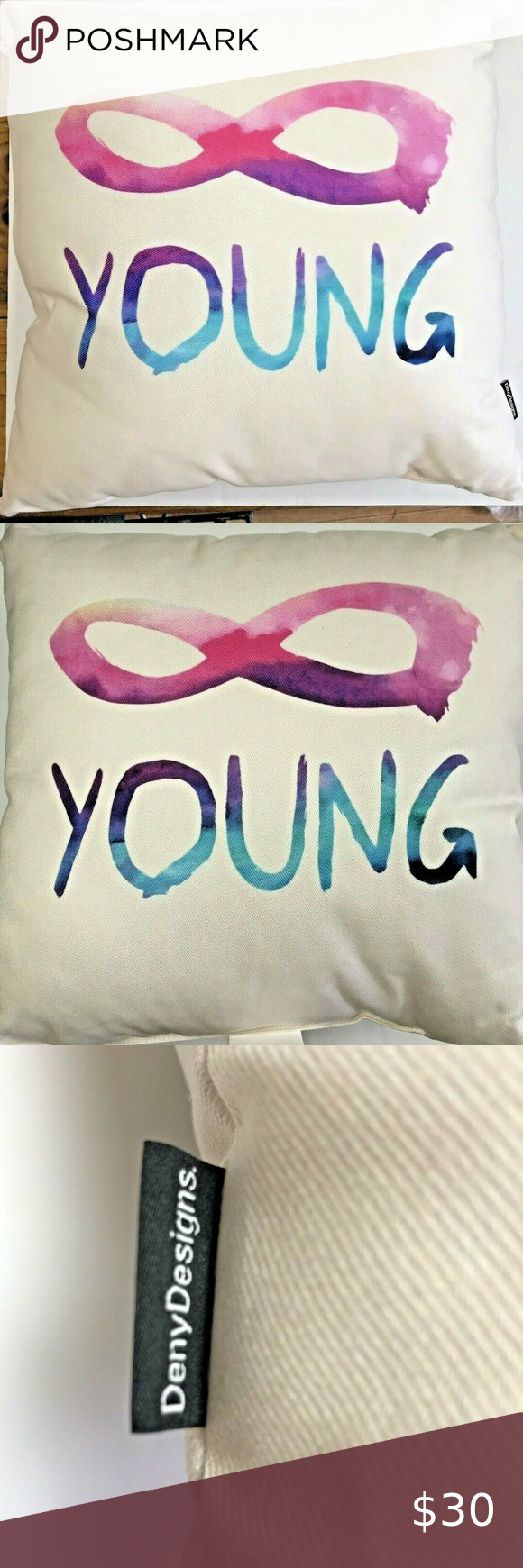 Forever Young Indoor Outdoor Pillow Infinity 18 Indoor Outdoor Pillows Outdoor Pillows Outdoor Throw Pillows