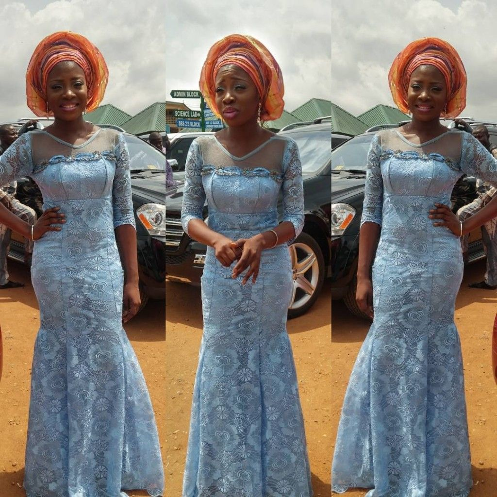 2017 05 aso ebi fashion styles nigeria wedding event fashion - Wedding Guests Are Slaying Their Aso Ebi Outfits This 2016 And They Keep Unfolding New Trends Awesome And Unique Colors Keep Popping On The Wedding Red