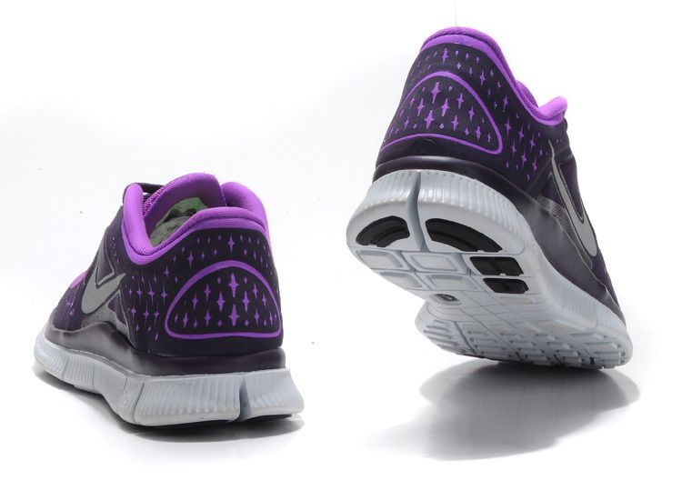 3f000ae3d59 ... coupon code for laser purple reflective silver grand purple nike free run  3 womens running shoes