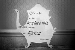 In order to be irreplaceable, one must always be different - Coco Chanel  #inspiration  #isabellas #quoteoftheday