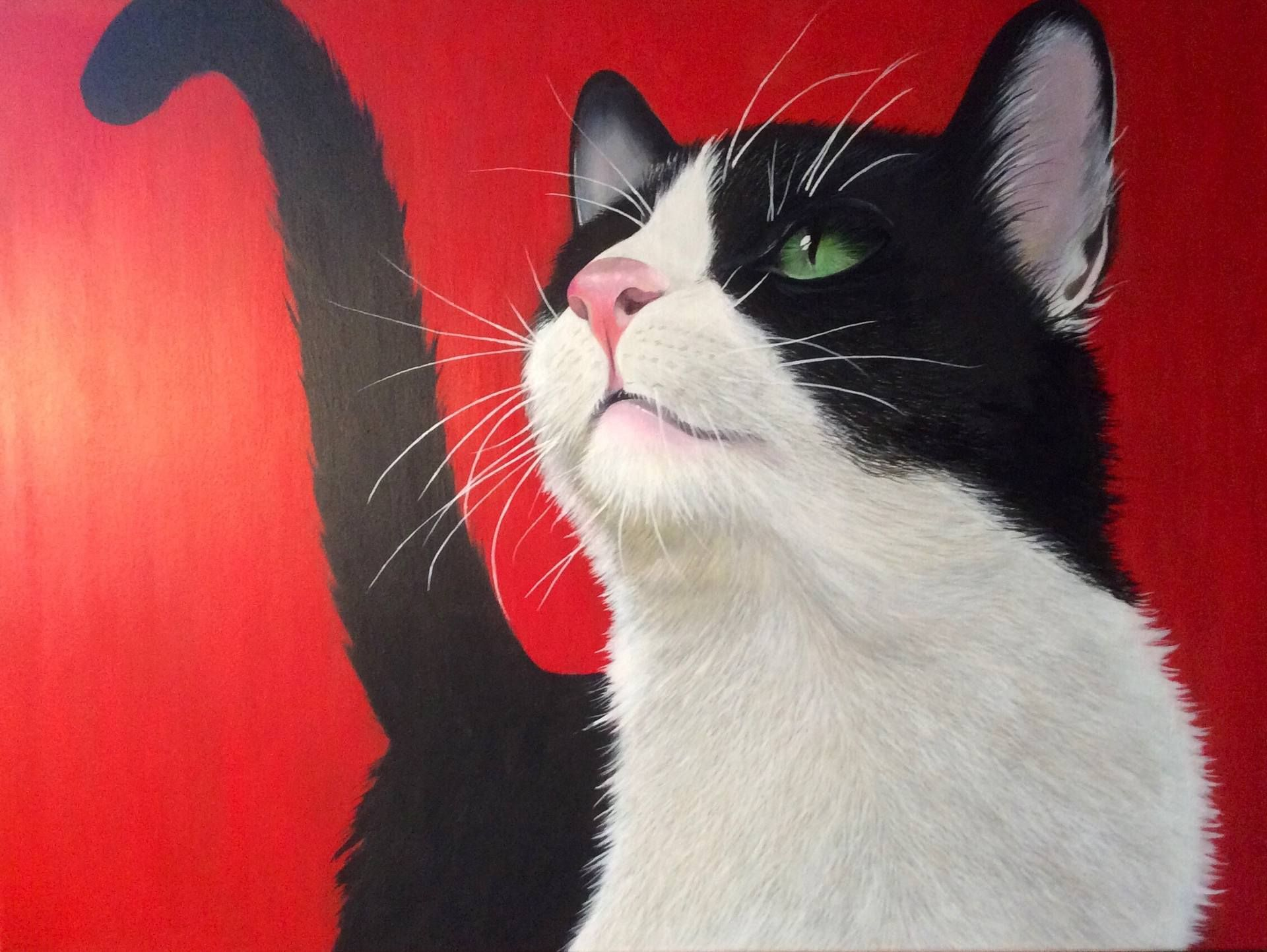 "Saatchi Art Artist: Keni Kennedy; Acrylic 2014 Painting ""I'm Hungry"""