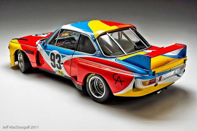 Art Car Alexander Calder Bmw 3 0 Csl 1975 Bmw Cars Bmw Art