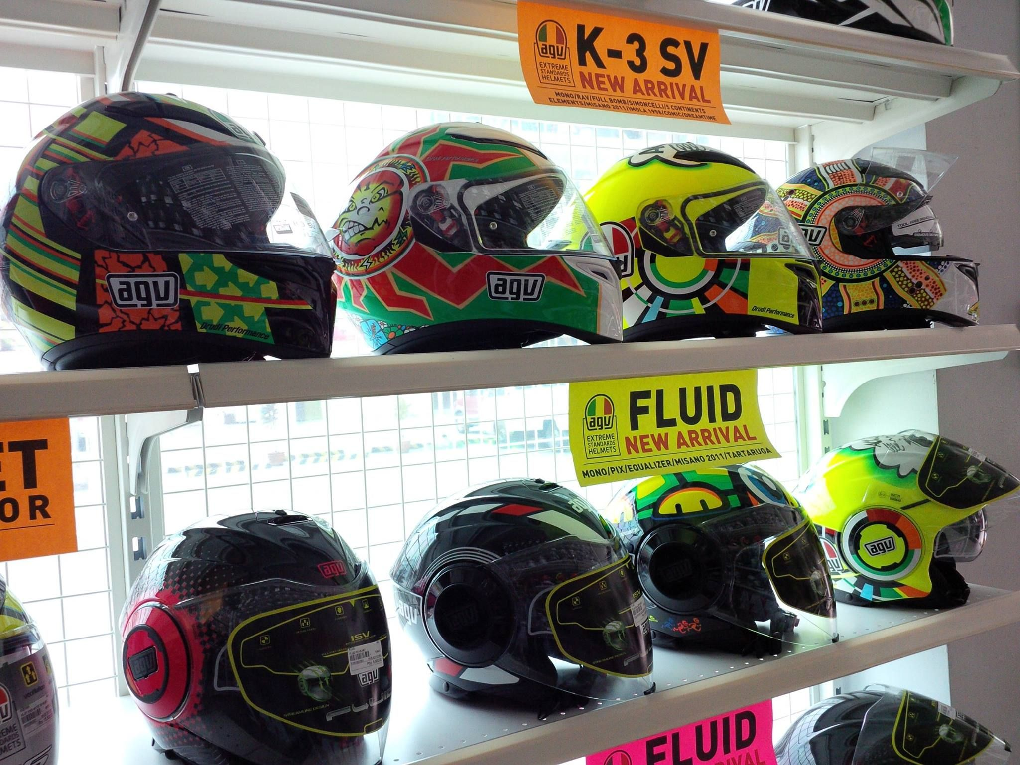 Visit us at MotoMarket Libis for new arrival of AGV