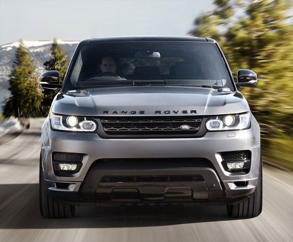 2014 Range Rover Sport Front View New range rover sport