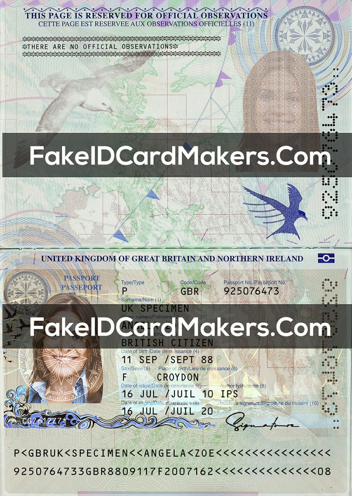 Uk Passport Template Psd New Fake Uk Proof Of Addpress In Fake Social Security Card Template Dow Passport Template Free Business Card Templates Card Template
