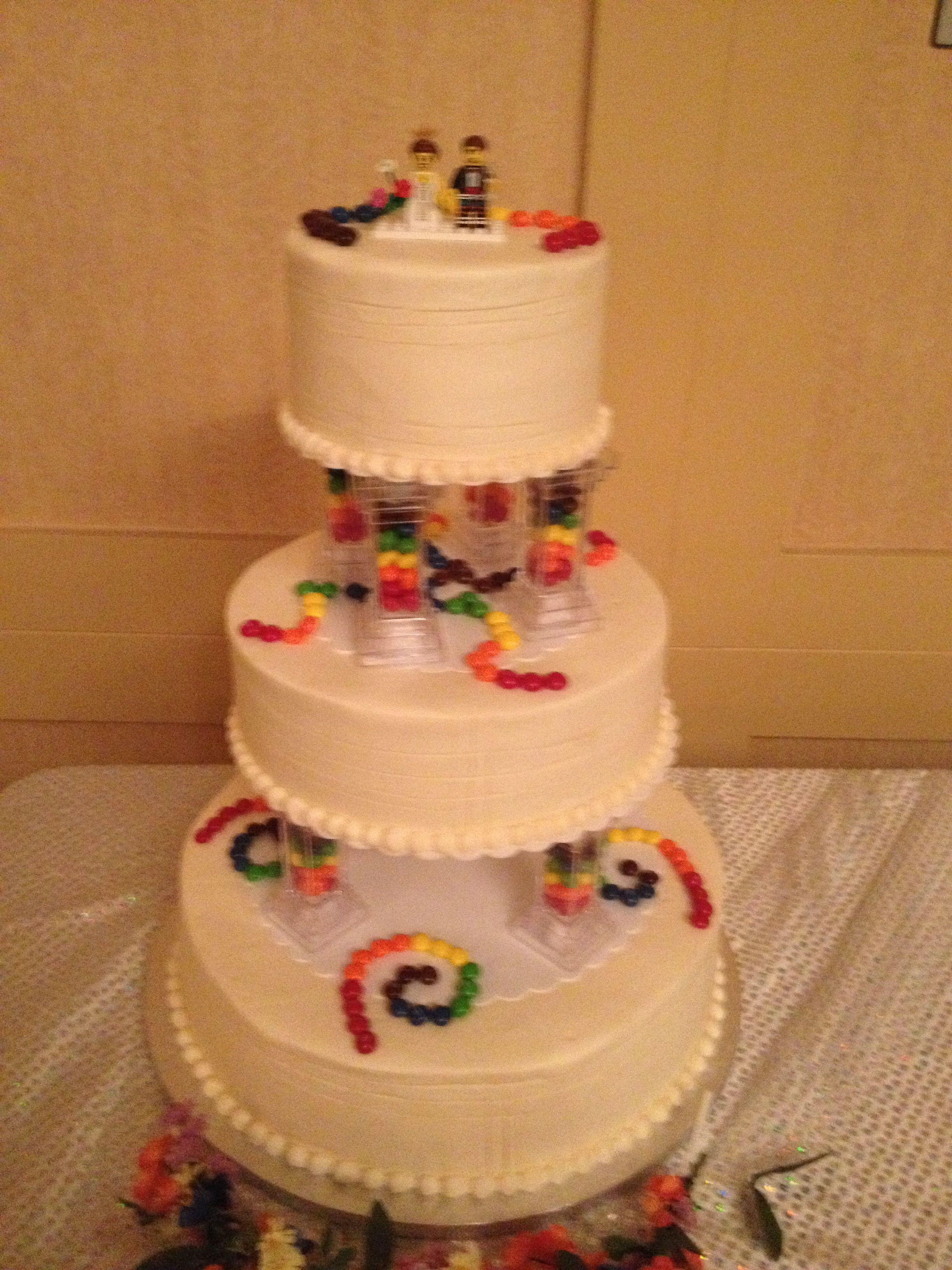 Fun candylego cake vegan cakes houston lego cake
