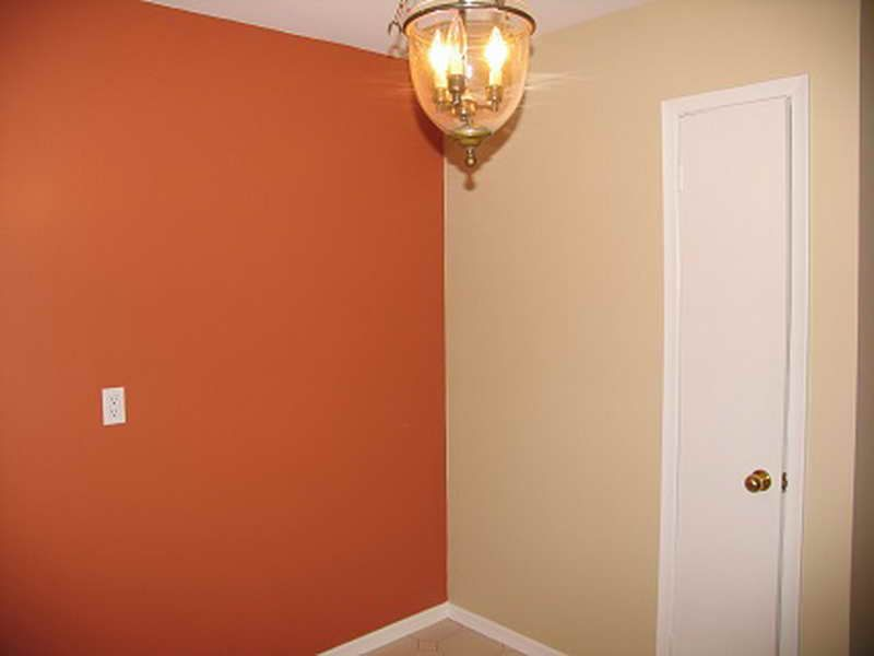 Burnt Orange Color Scheme Interior With Spaces New Color