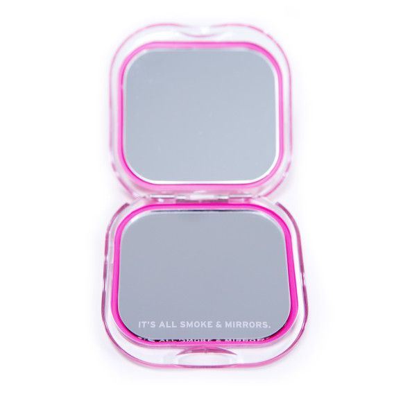 Knock Knock Face It Compact is a colorful makeup mirror and witty