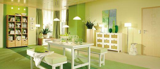 Wandfarben Grün   Interior Design   Wohnideen Idea