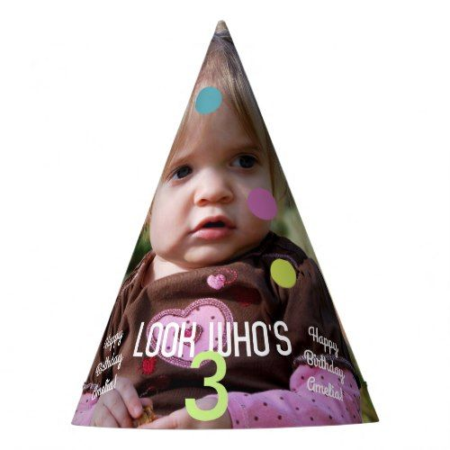 Photo Template Birthday Year Party Hat Birthdays and Birthday - Party Hat Template