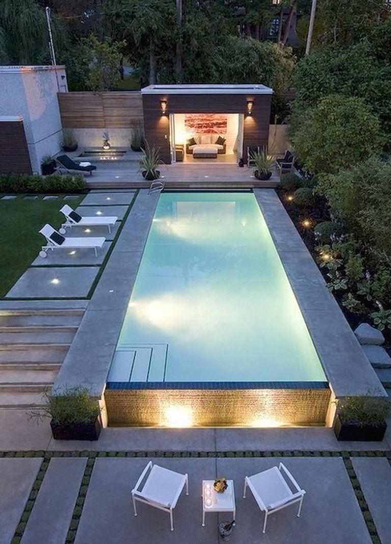 35 Modern Pool Deck Designs For Your Backyard Garten Gartenideen Gartendeko Gartenanlegen In 2020 Gartengestaltung Gartenpools Kleiner Pool Design