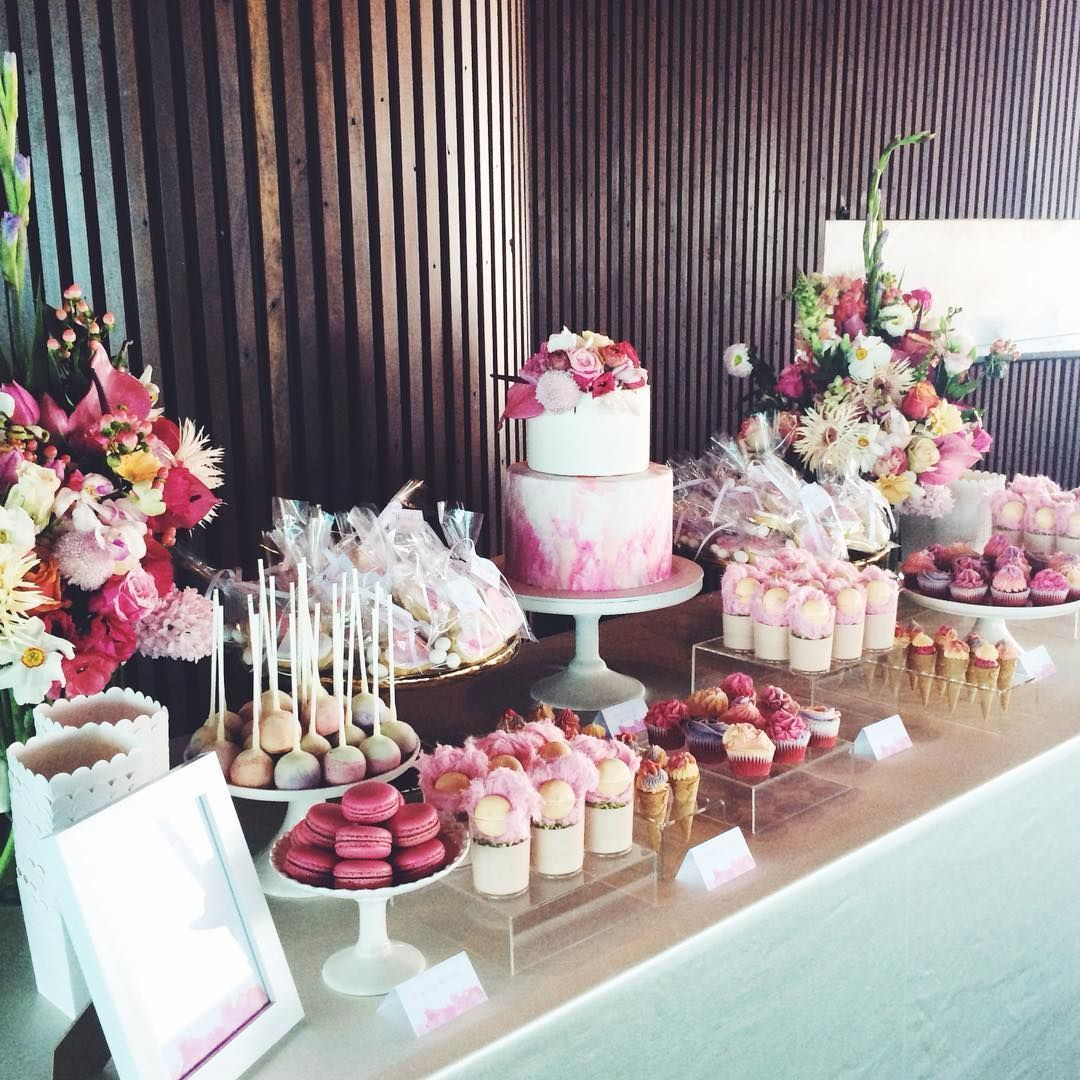 25 Best Sweet Dessert Table Ideas For Your Party Weddingtopia Sweet Table Wedding Wedding Dessert Table Wedding Desserts