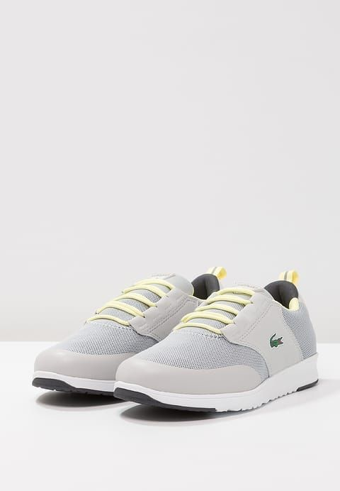 L.IGHT Lacoste - Sneakers low - light gray / yellow - Zalando.it