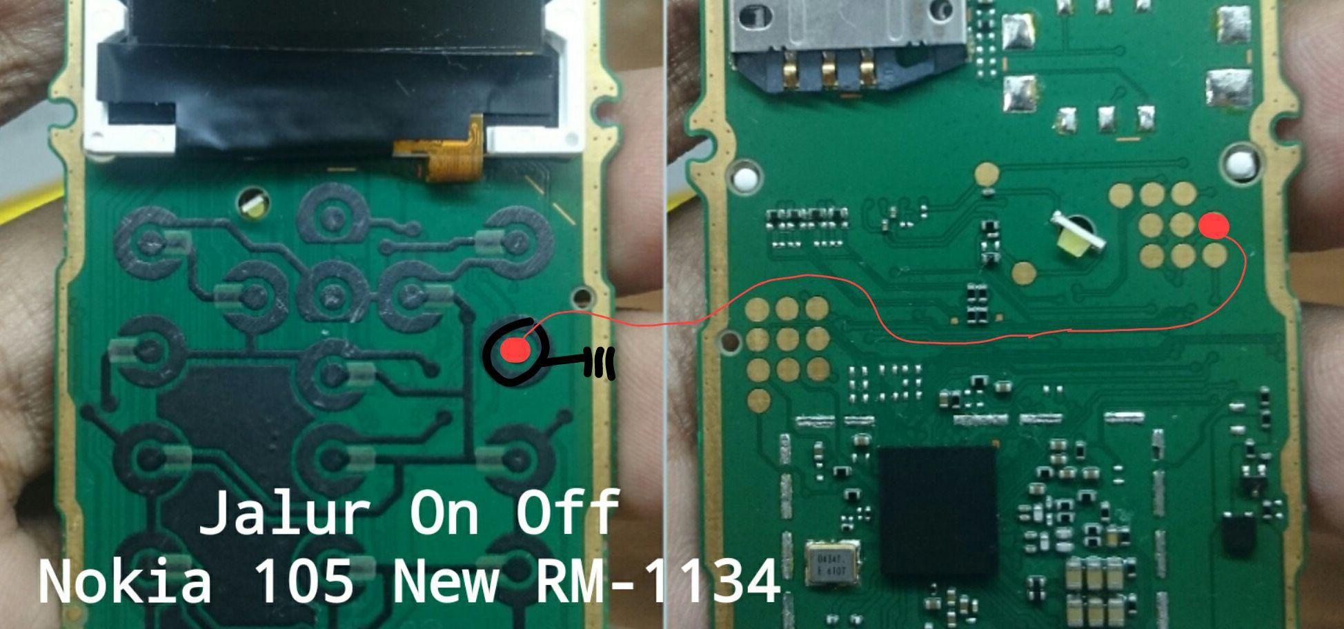 Nokia 105 Power Button Solution Jumper Ways Power button