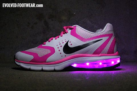 nike air max premiere run with pink lights evolved footwear custom
