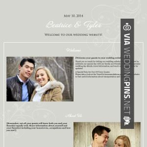 Love This Example Wedding Website Welcome Message Check Out