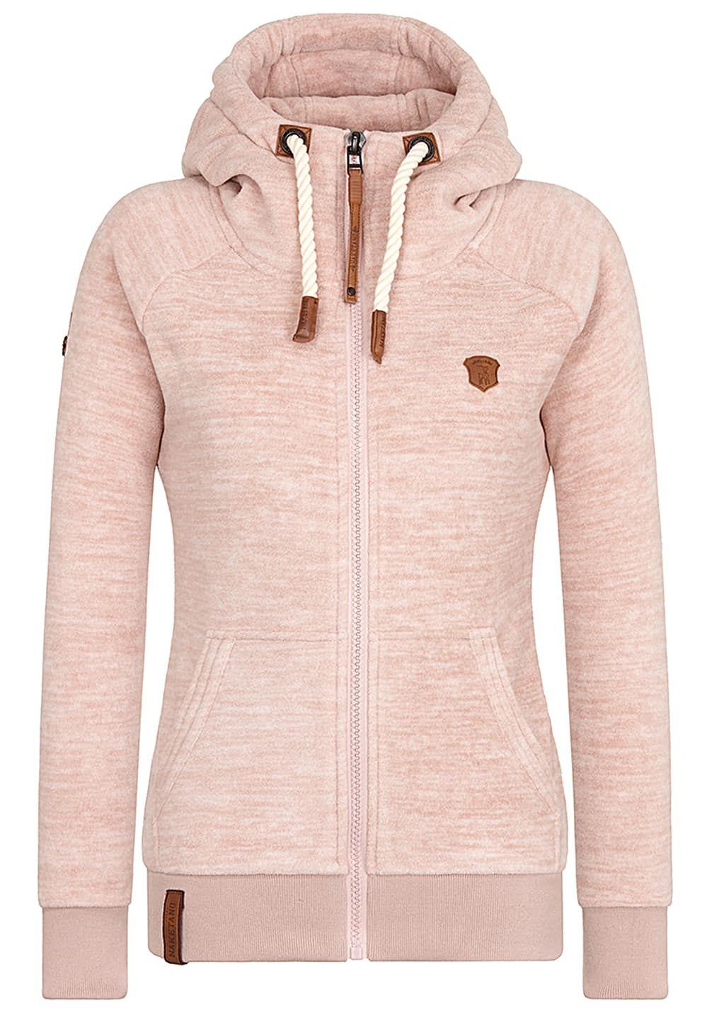 Naketano Gigi Meroni - Fleecejacke für Damen - Pink Jetzt bestellen unter   ... 9614a5a64c