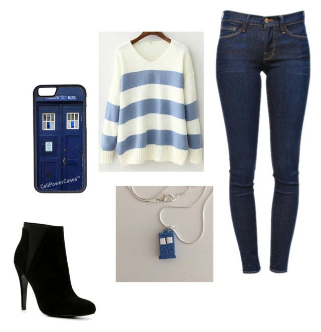 """""""Mrs. Meyer's outfit"""" by scriblesnumber1girl ❤ liked on Polyvore featuring мода, CellPowerCases, Frame Denim и ALDO"""